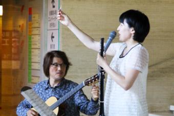 星野麻記さん、千葉幸成さん