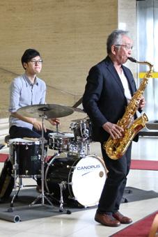 「西部邦彦Acoustic Jazz Quartet」の方々