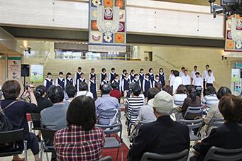 城西中学校特設合唱部ミニ・コンサート